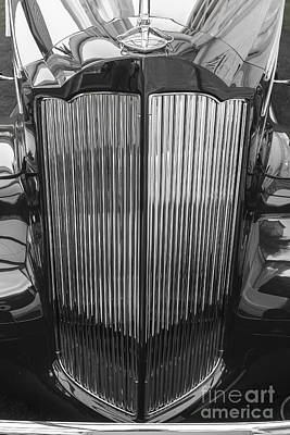 Photograph - 1938 Packard Grille by Dennis Hedberg