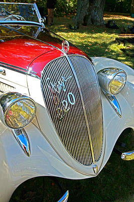 Photograph - 1938 Steyer 220 S Sport Roadster by Allen Beatty