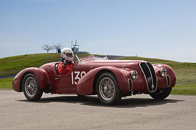 Garden Fruits - 1939 Alfa Romeo 6C 2500 SS by Dave Koontz