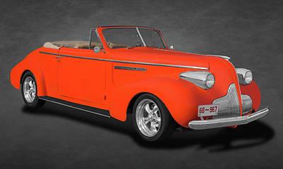 Photograph - 1939 Buick Century Convertible  -  1939buickcenturyconvtext173374 by Frank J Benz
