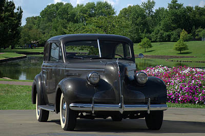 Photograph - 1939 Buick  by Tim McCullough