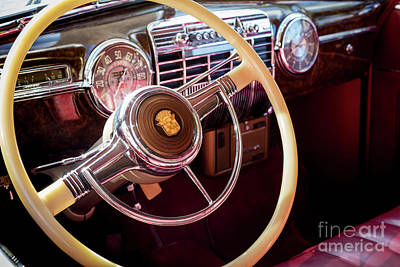 Photograph - 1939 Cadillac by Brian Jannsen