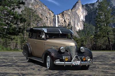Photograph - 1939 Chevrolet Sedan Custom Street Rod by TeeMack