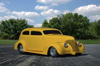 Photograph - 1939 Chevrolet Sedan by TeeMack