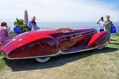 Photograph - 1939 Delahaye T165 by Thomas Hall