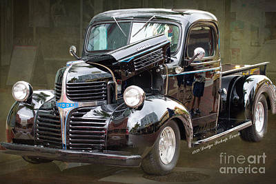 Hot Rod Photograph - 1939 Dodge Pickup Custom By Darrell Hutto by J Darrell Hutto