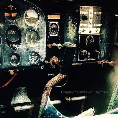 Old Wall Art - Photograph - 1939 Fairchild 24r2                 by Steven Digman