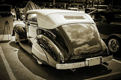 Photograph - 1939 Ford 4 Door Deluxe Convertible 5542.62 by M K Miller