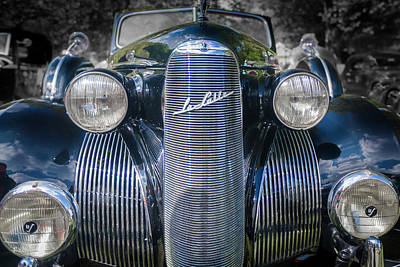 Photograph - 1939  Lasalle Covertable Sedan by Jack R Perry