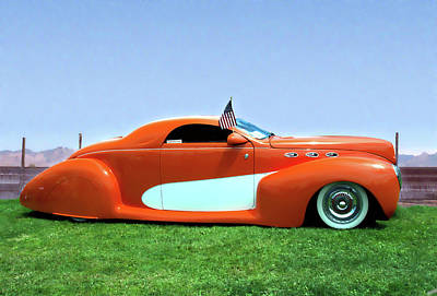 1939 Lincoln Zephyr Coupe Art Print