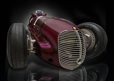 1939 Maserati 8ctf Indy Racer Art Print