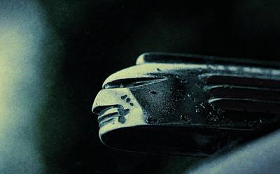 Photograph - 1939 Pontiac Silver Streak Hood Ornament by Carol Leigh