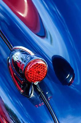 Photograph - 1939 Pontiac Silver Streak Taillight by Jill Reger