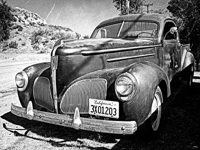 Photograph - 1939 Studebaker Coupe Truck by Glenn McCarthy Art and Photography