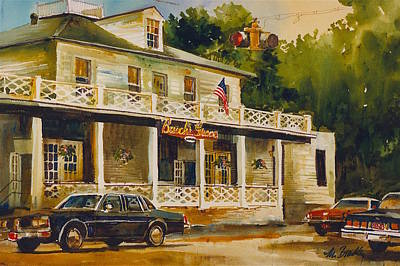 Busches Painting - 194 Busch's Grove by Marilynne Bradley