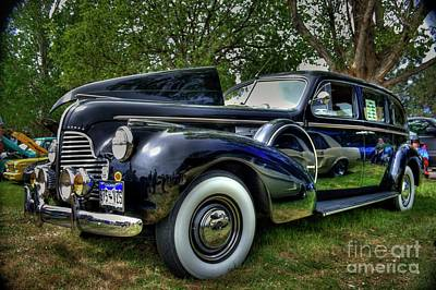 Photograph - 1940 Buick Limo by Tony Baca