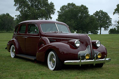 Photograph - 1939 Buick Roadmaster Formal Sedan by Tim McCullough