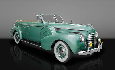 Photograph - 1940 Buick Special Convertible by Frank J Benz