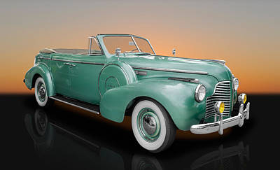 Photograph - 1940 Buick Special Convertible Sedan by Frank J Benz