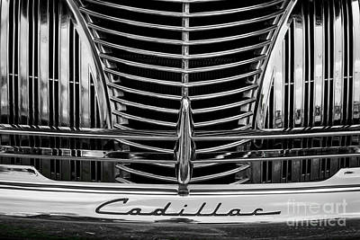 Photograph - 1940 Cadillac Grill by Dennis Hedberg