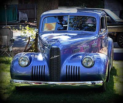 Photograph - 1940 Cadillac Lasalle by AJ Schibig