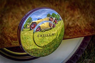 Photograph - 1940 Cadillac Reflections by LeeAnn McLaneGoetz McLaneGoetzStudioLLCcom