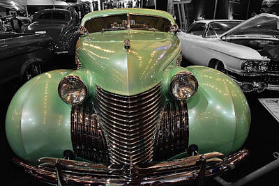 Photograph - 1940 Cadillac Series 62 by Richard Gehlbach