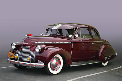Photograph - 1940 Chevrolet Coupe by Bill Dutting