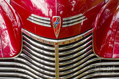 Photograph - 1940 Chevrolet Grill by Dennis Hedberg