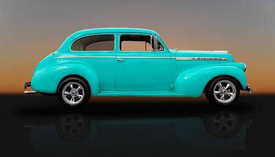 1940 Chevrolet Special Deluxe Sedan - V1 Art Print