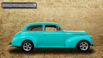 1940 Chevrolet Special Deluxe Sedan - V4 Art Print