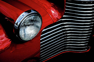 Photograph - 1940 Chevy 2-door by Eric Christopher Jackson