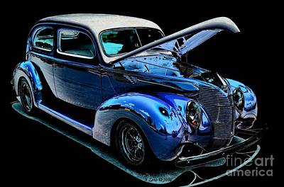 Photograph - 1940  Classic Car by Annie Zeno