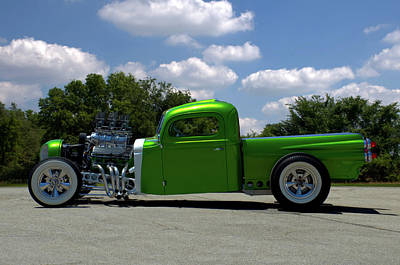 Photograph - 1940 Ford Custom Pickup Truck by Tim McCullough