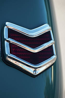 Photograph - 1940 Ford Deluxe Coupe Duo Lamp Tail Light 2 by Jani Freimann