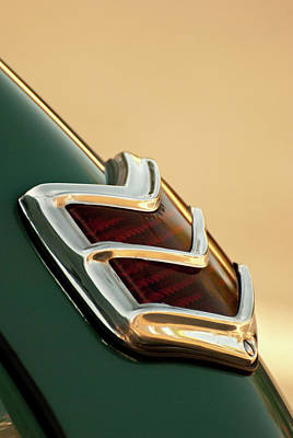 Photograph - 1940 Ford Deluxe Coupe Duo Lamp Tail Light by Jani Freimann