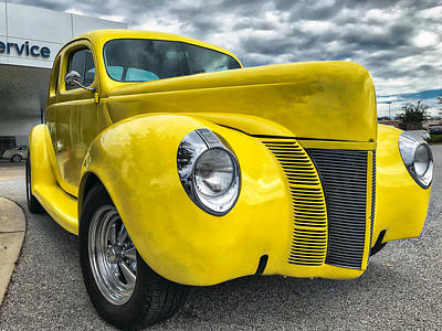 Photograph - 1940 Ford Deluxe Coupe by Mark Guinn