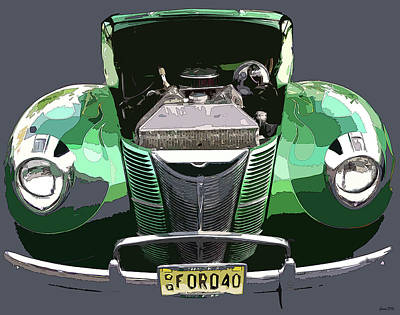 Photograph - 1940 Ford by JoAnn Lense