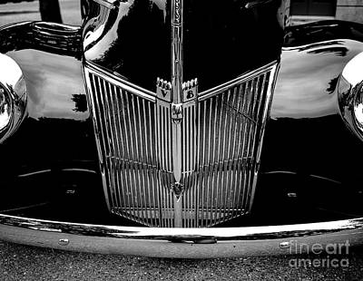 Photograph - 1940 Ford Station Wagon by M G Whittingham