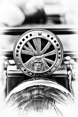 Photograph - 1940 Indian Sport Scout Horn by Tim Gainey