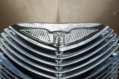Photograph - 1940 La Salle Hood Ornament 2  by Jill Reger