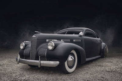 Digital Art - 1940 Lasalle by Douglas Pittman