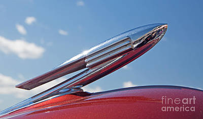 Photograph - 1940 Lasalle Hood Ornament by Kevin McCarthy
