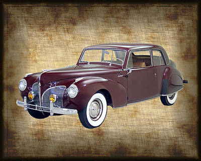 Photograph - 1940 Lincoln Continental Coupe by Jack Pumphrey