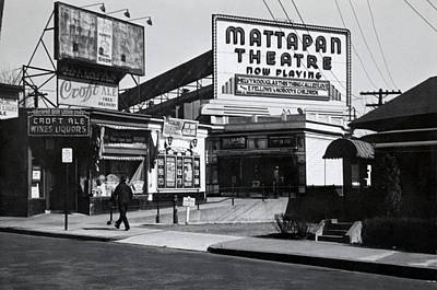 Photograph - 1940 Mattapan Theatre Boston by Historic Image