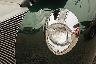 Photograph - 1940 Mercury Convertible Vintage Classic Car Photograph 5227.02 by M K Miller