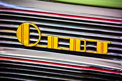 Photograph - 1940 Oldsmobile Emblem by Jill Reger