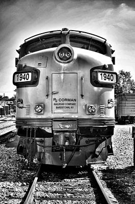 Photograph - 1940 Train by Joseph Caban