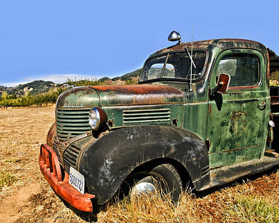 Photograph - 1940s Dodge Truck by Gigi Ebert