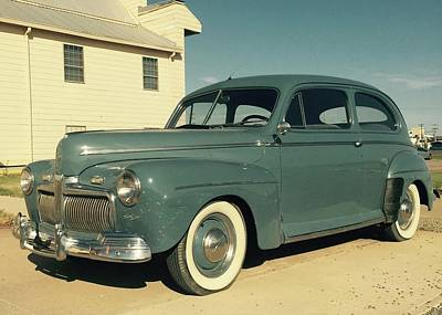 Photograph - 1940s Ford by Christin Brodie